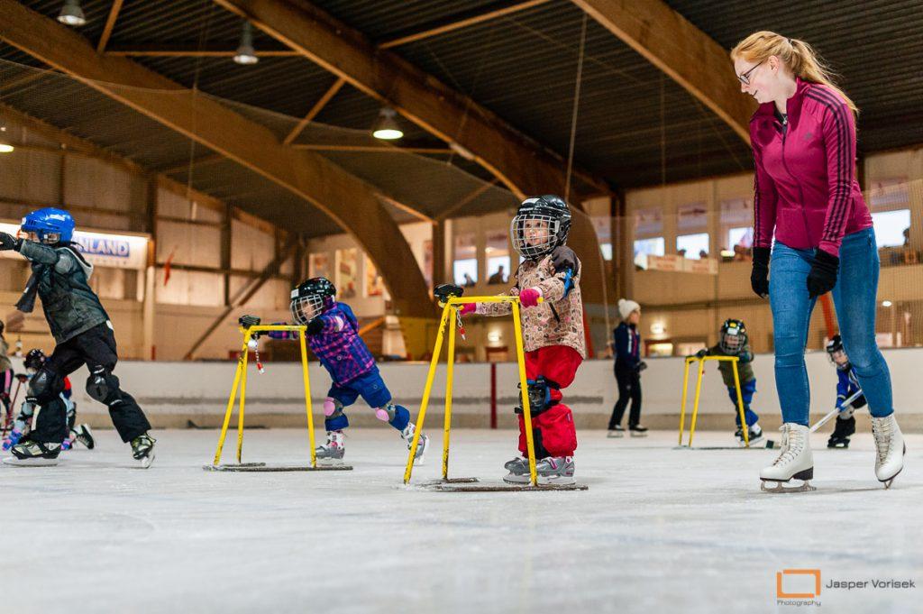 ijshockeyschool Leiden Lions voor kinderen vanaf 4 jaar oud