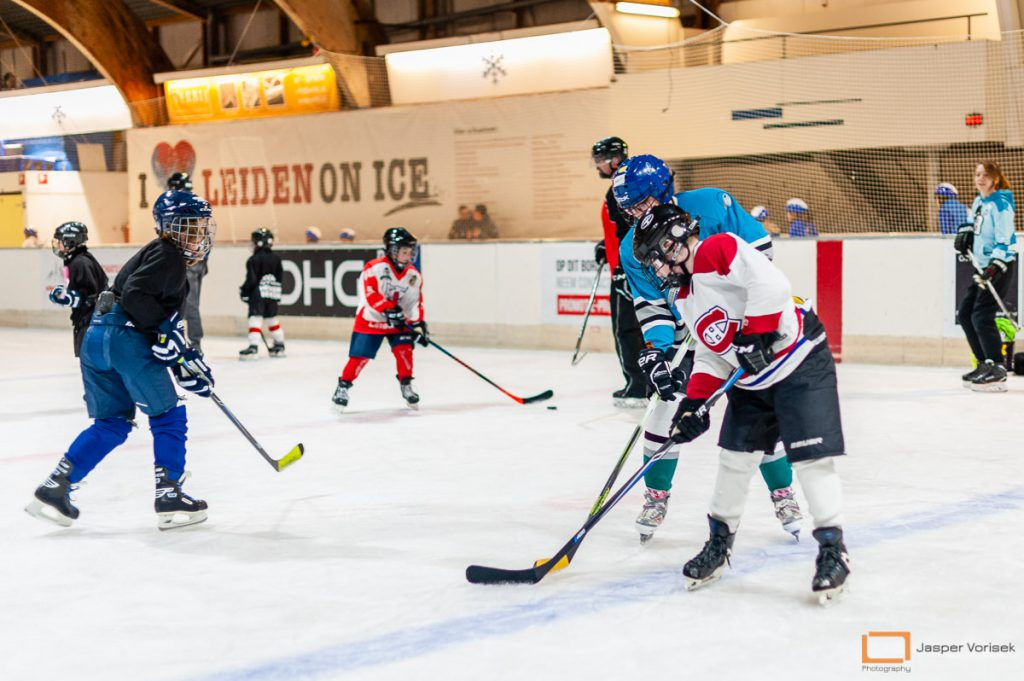 ijshockeyschool Leiden Lions
