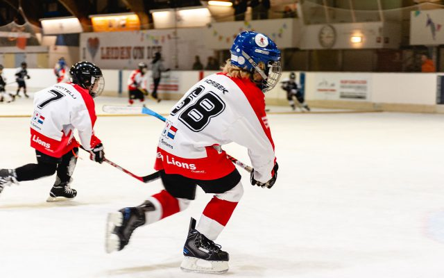 U8 Leiden Lions ijshockey