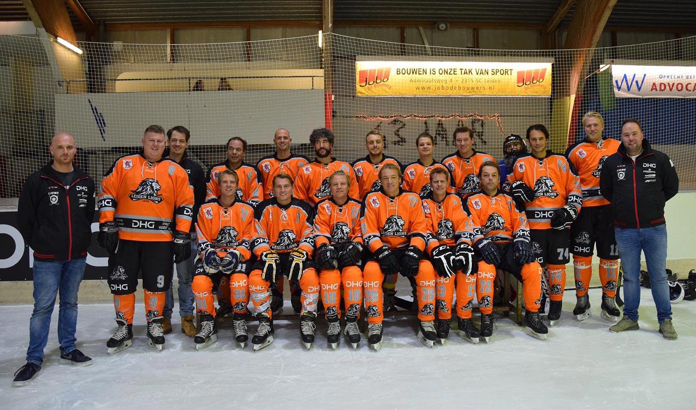 Leiden Lions team foto